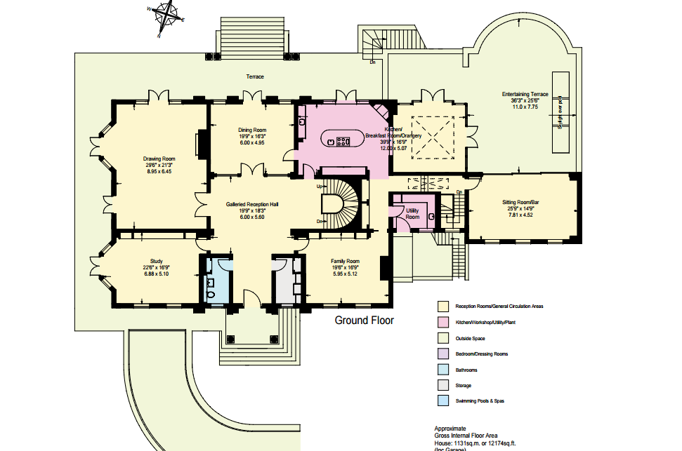 ground floor plan foxwood a 12 000 square foot brick