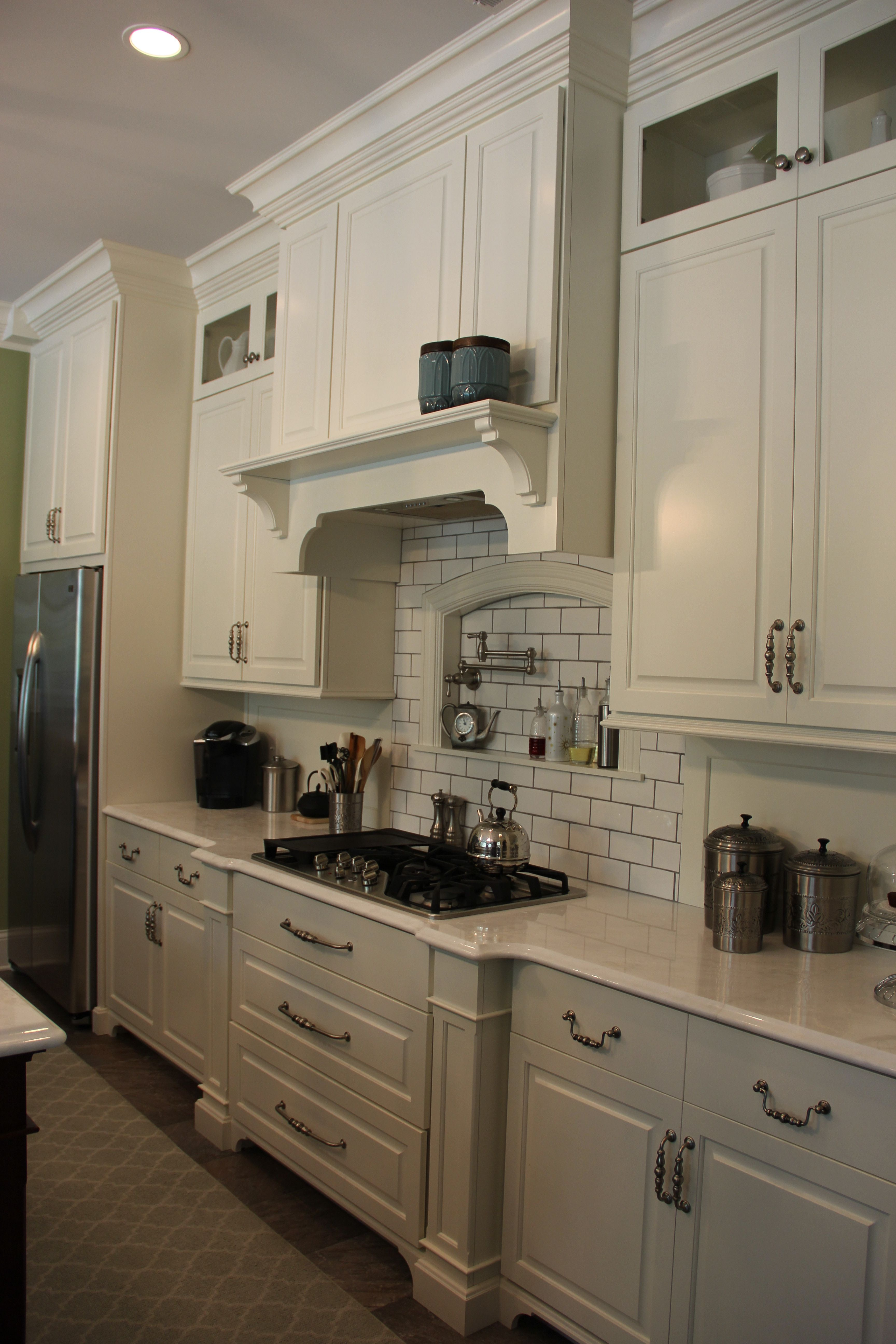 Gorgeous Custom Painted Cabinets New Construction Painting