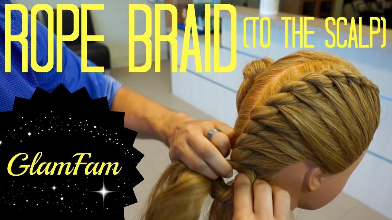 How To Rope Braid The Scalp