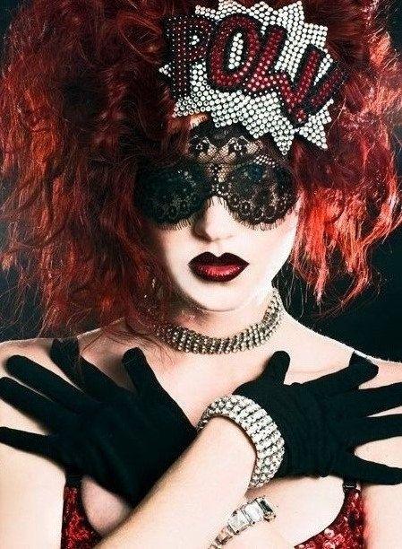 Dollar Shipping! Mardi Gras Mask Masquerade Mask Black Face Mask Lace Mask on Etsy, $8.50