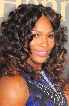 Serena Williams Natural Curl Black Hair Styles Hairstyle Remy Hair Wigs Wig Hairstyles Hair Styles