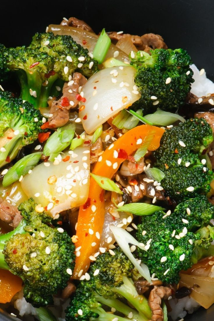Szechuan Beef - Low Calorie, Low Carb, Chinese Beef Stir ...