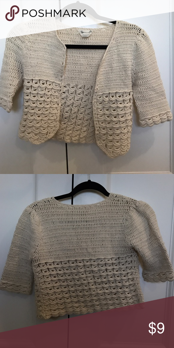 Urban Outfitters XS shrug sweater 100% cotton shrug sweater from ...