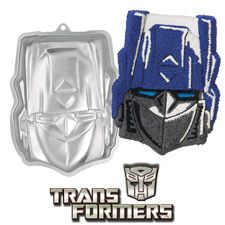 """Transformers™ Cake Pan. only 2"""" deep - place on top of a sheet cake."""