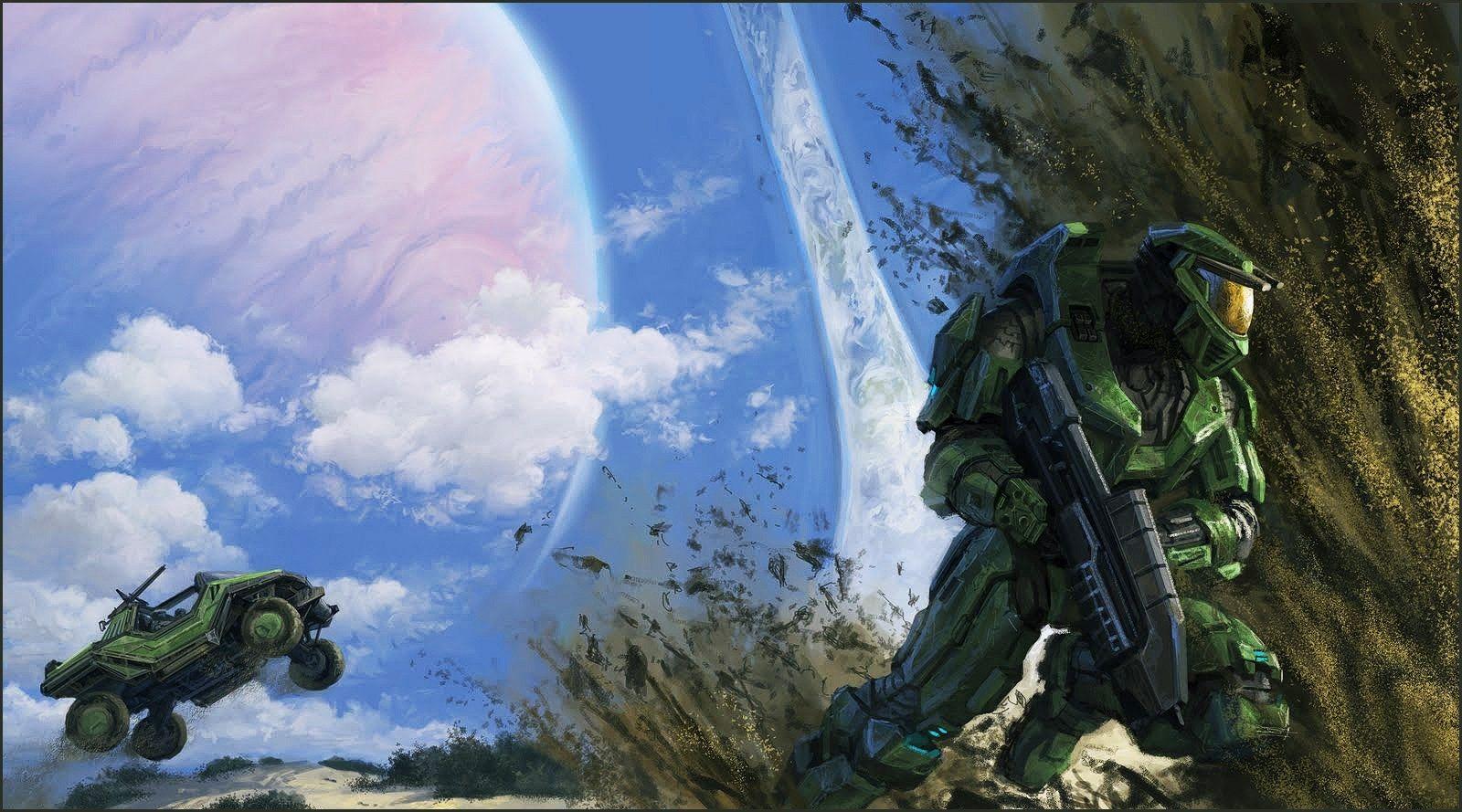 Halo Full Hd Background Halo Halo Series Halo Combat Evolved