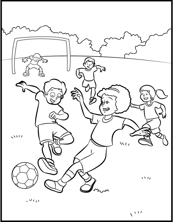 Sport Colour Activities For Children K5 Worksheets Sports Coloring Pages Coloring Pages For Kids Coloring For Kids