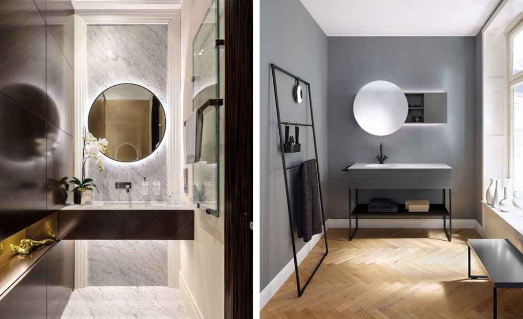 Espejos redondos para el cuarto de ba o tendencias de for Espejos cuarto de bano