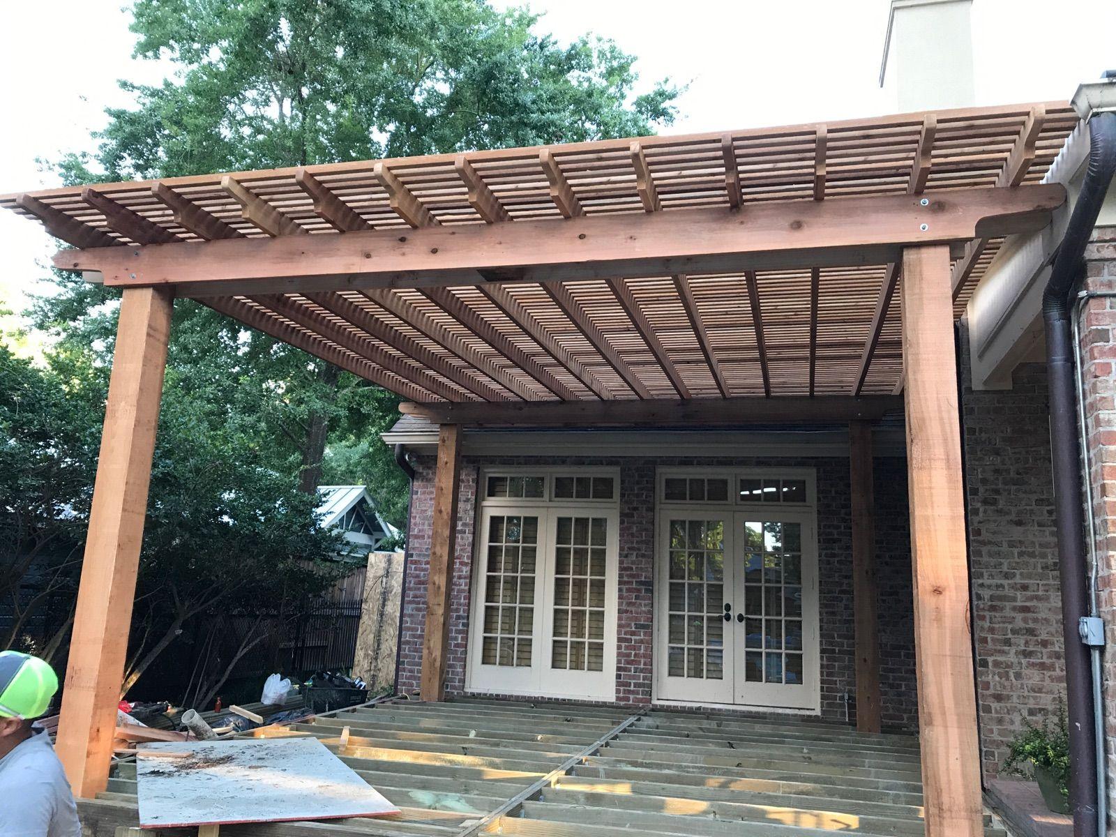 www.texaspatiocovers.com | Pergola, Pergola screens, Cedar ...