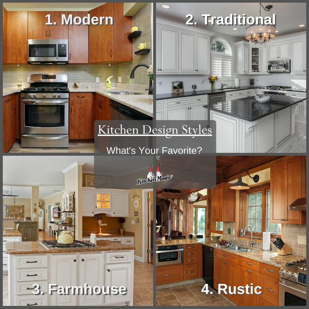 Top 5 Kitchen Styles Of All Time  Kitchen Styling Kitchen Design Awesome Kitchen Styles Designs Design Inspiration
