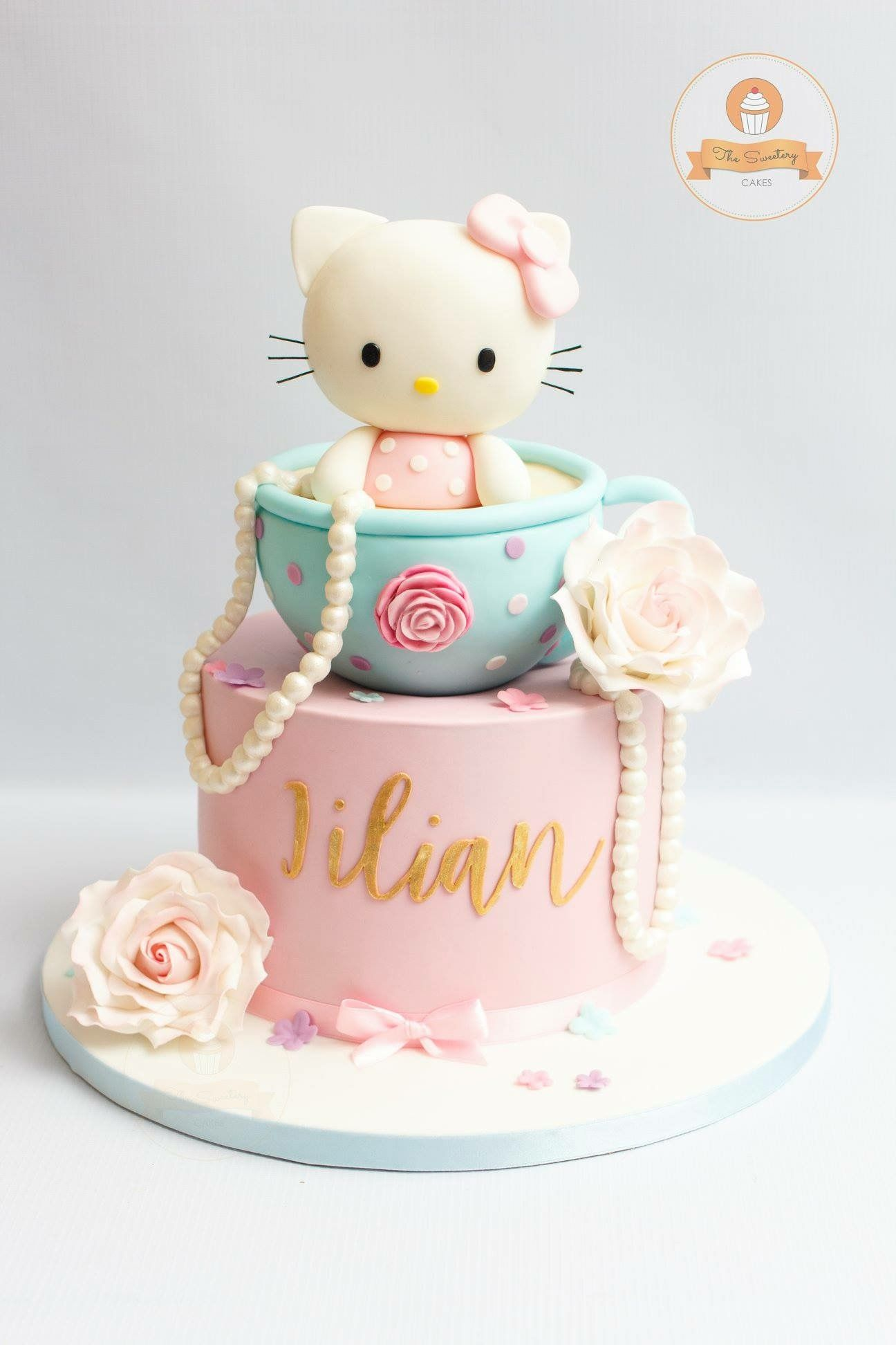Hello Kitty Cake In 2019 Birthday