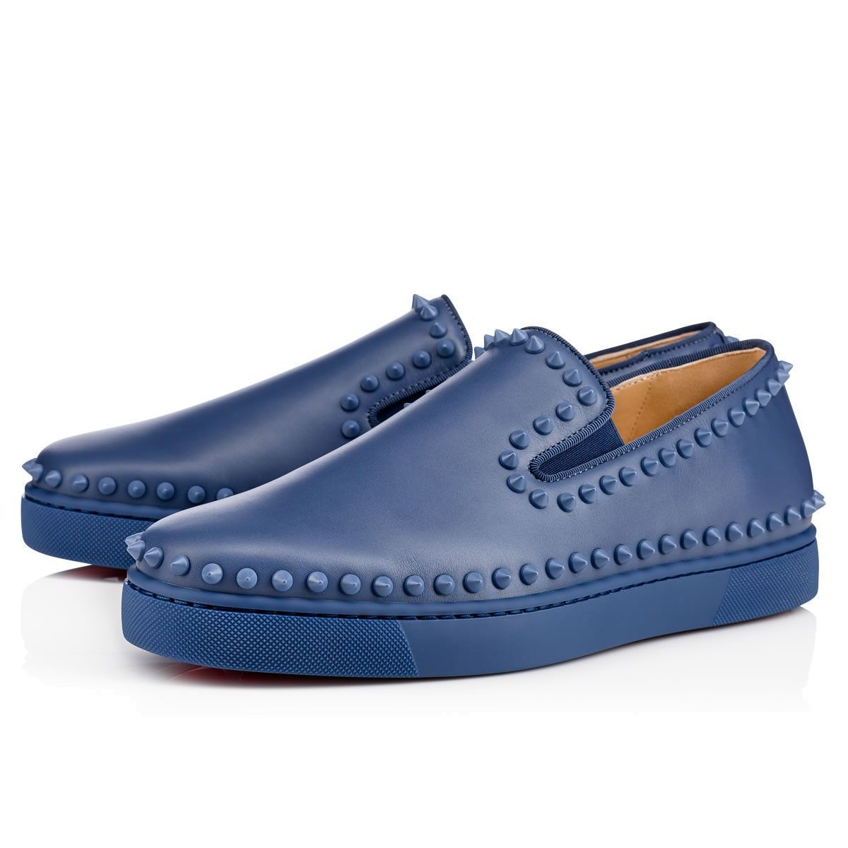 Casanono Flat studded loafers Christian Louboutin Free Shipping Sale Online Store Online Discount Official Affordable For Sale UbTSJ5qO