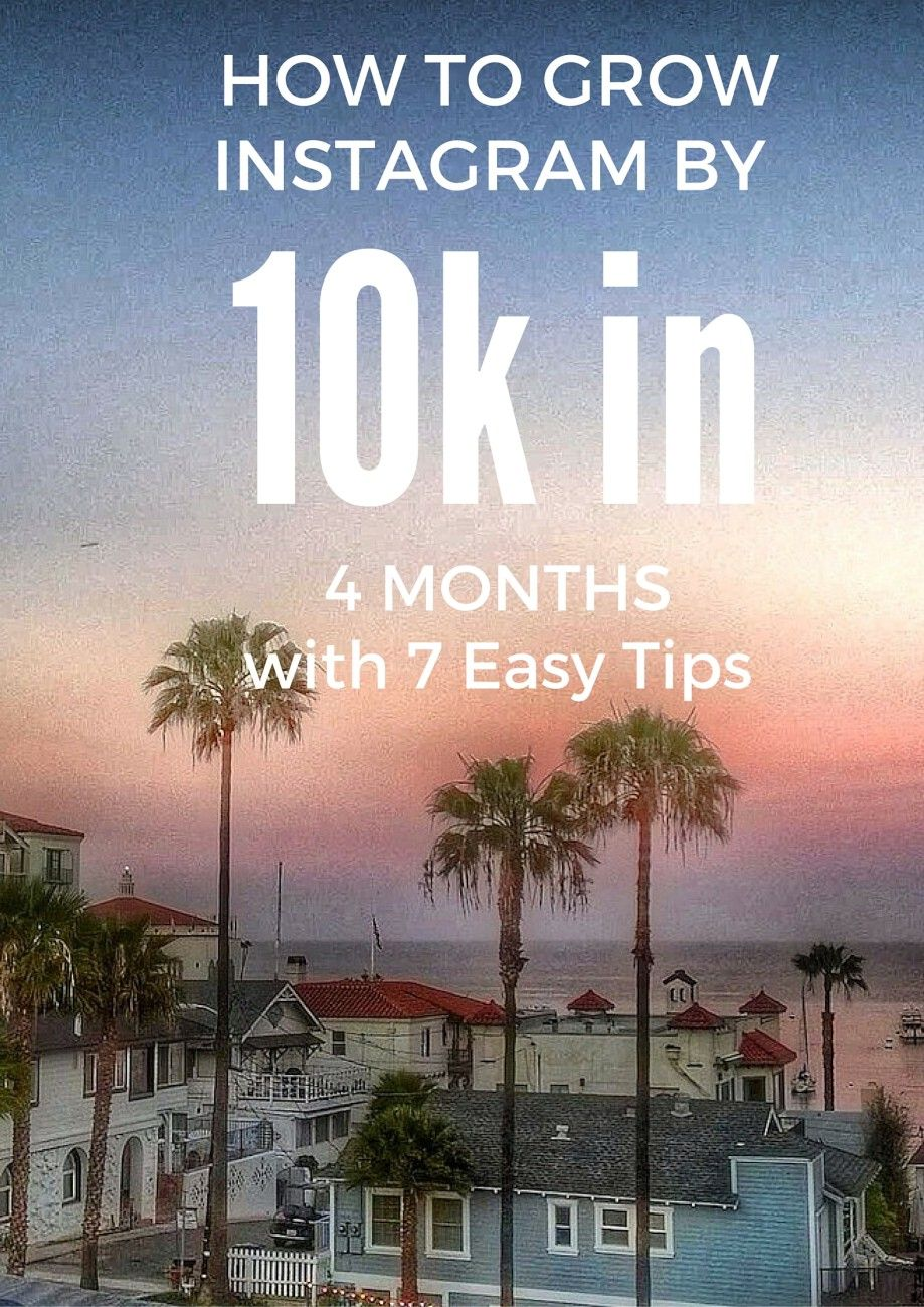 @debthompson shares her tried and true tips for growing your Instagram account. Learn How To Grow Instagram followers in 4 months with these 7 easy tips!