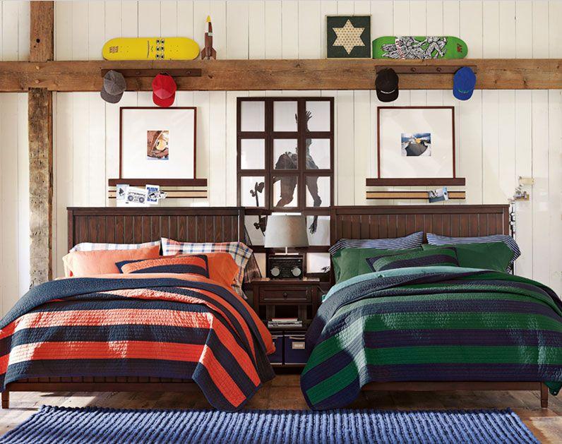 Teenage Guys Bedroom Ideas Boys Bedroom Furniture Striped