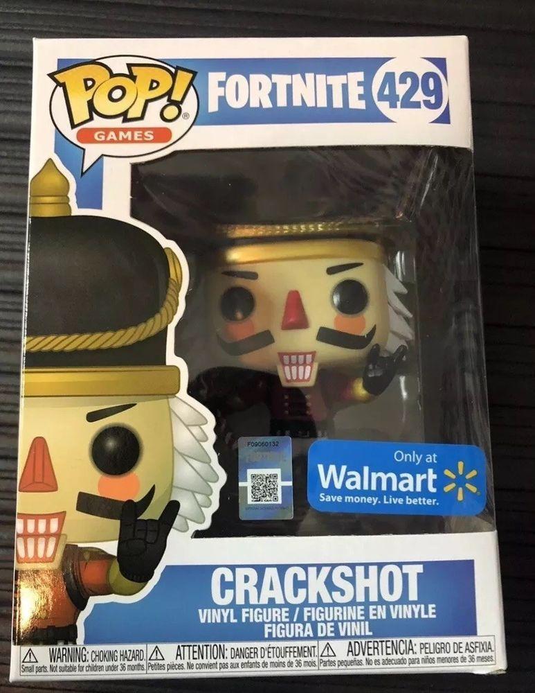 Funko Pop Games Fortnite Crackshot Walmart Exclusive 429