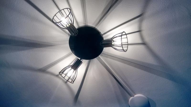 3 Spot Kevin Zwart Plafondlamp Verlichting Lampen