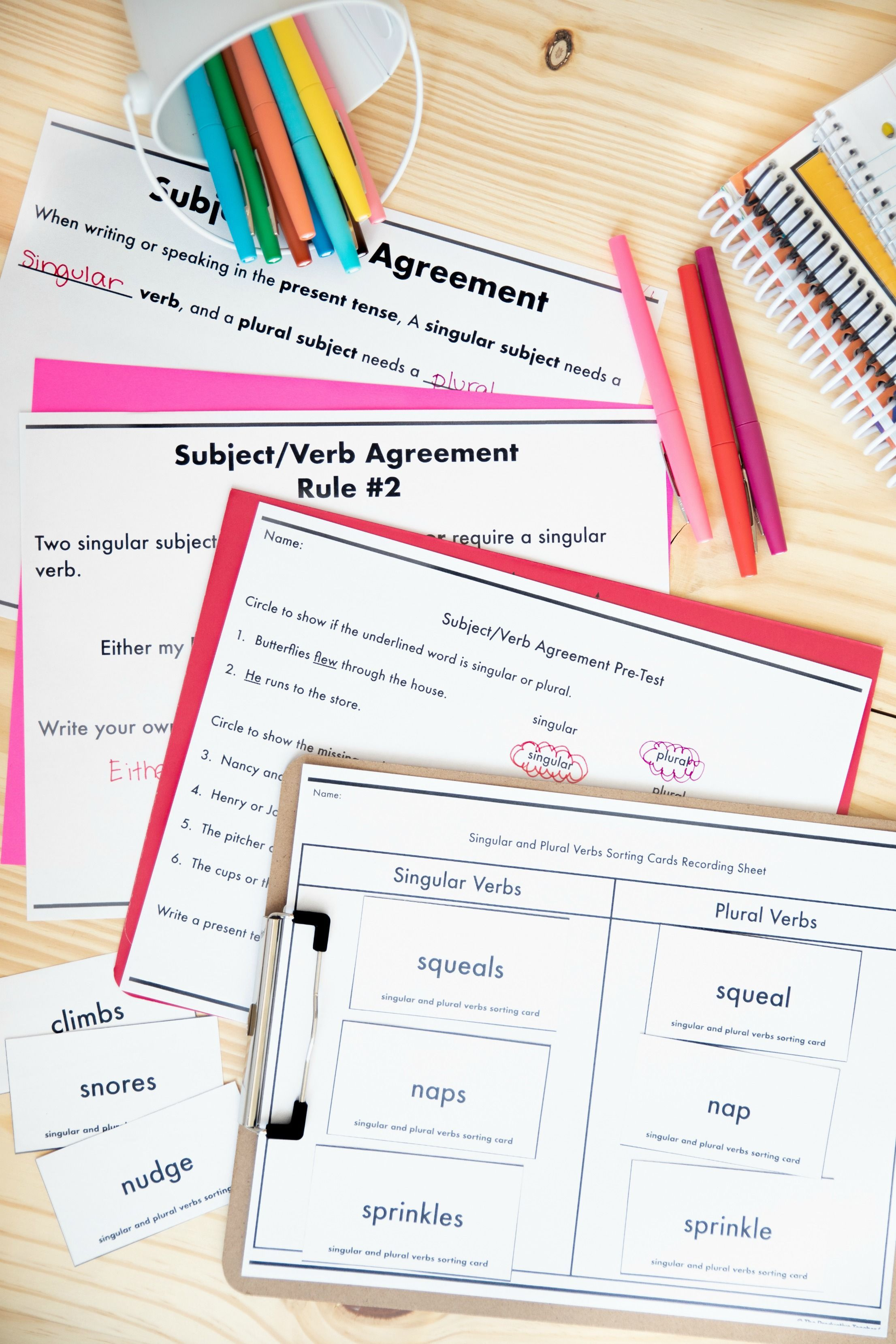 Grammar Unit Subject Verb Agreement