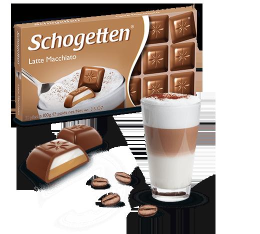 Schogetten Latte Macchiato Chocolate 100g (Germany Import) - GB Gifts