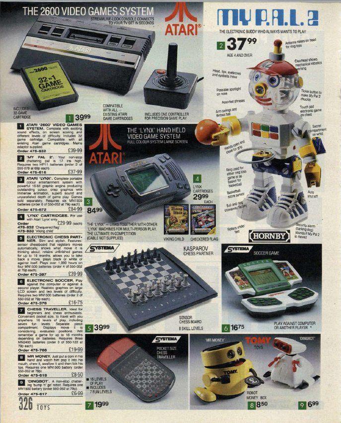Index Catalogue 1992 - Atari #gaming #gamer #atari