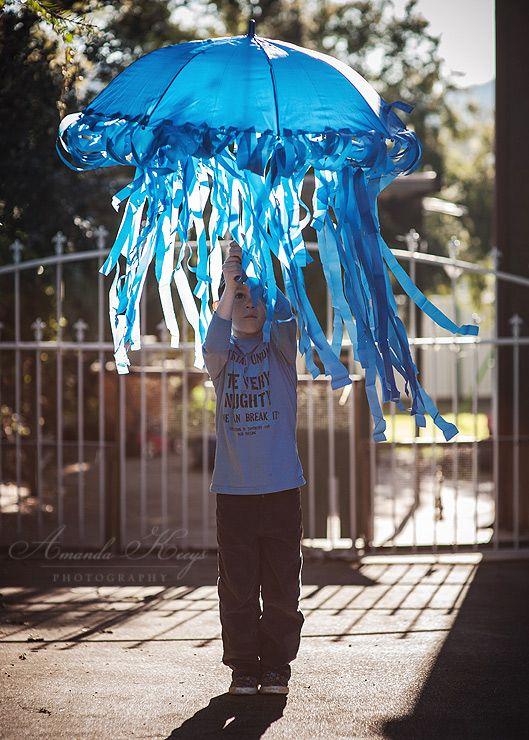 jelly fish umbrella costume