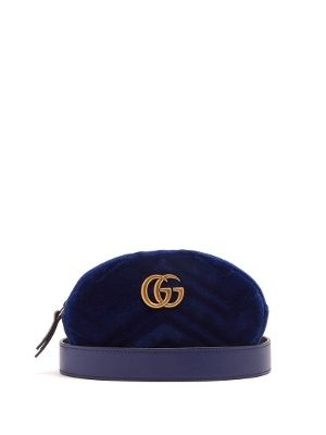 e938640d90f Click here to buy Gucci GG Marmont quilted-velvet belt bag at  MATCHESFASHION.COM