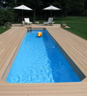Lap pools above ground lap pools inground lap pools for Portable above ground swimming pools