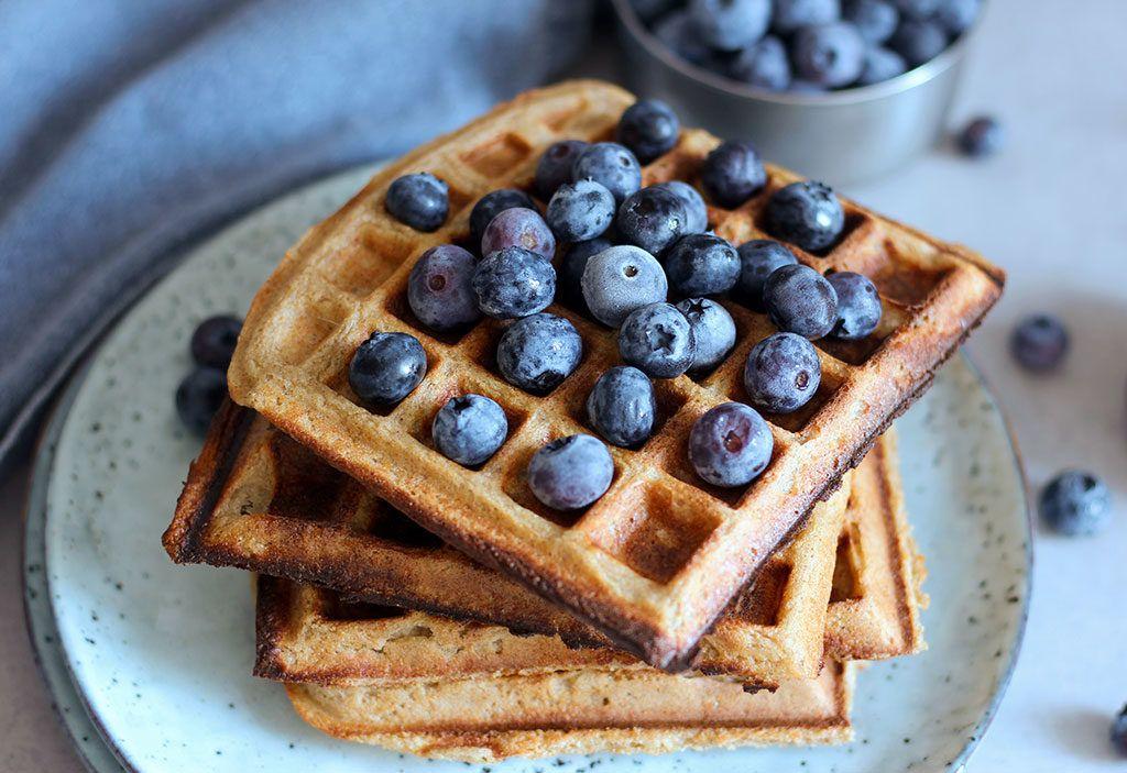 Rice Flour Waffles | Waffles, Vegan desserts, Waffle recipes