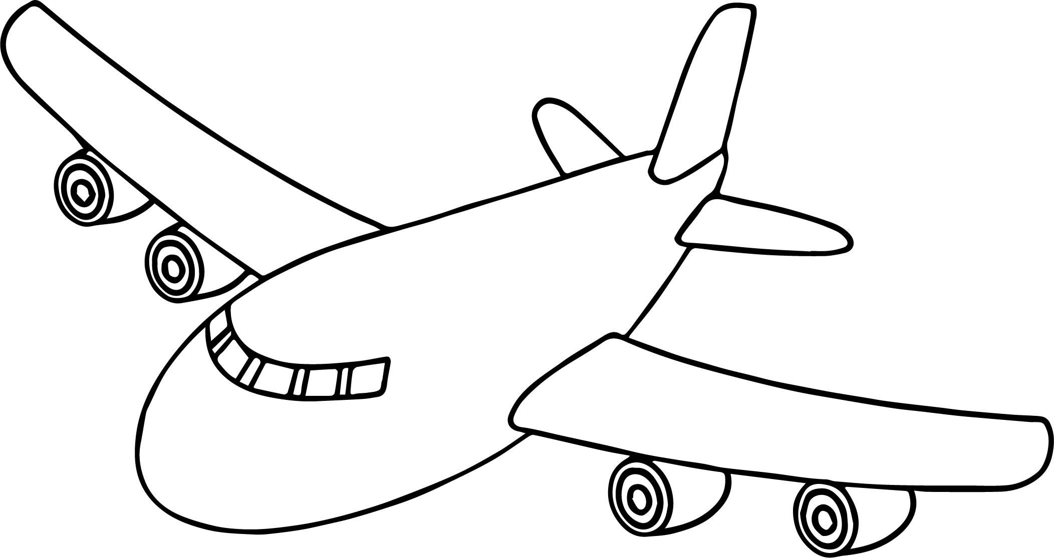 Image Result For Colour Airplane Airplane Coloring Pages Cartoon Coloring Pages Preschool Coloring Pages
