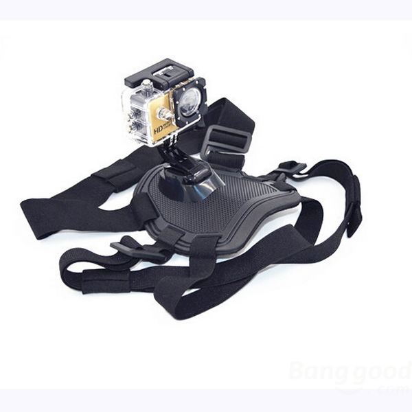 Dog Camera Mount ChestBack Harness For GoPro Hero 4/3+/3
