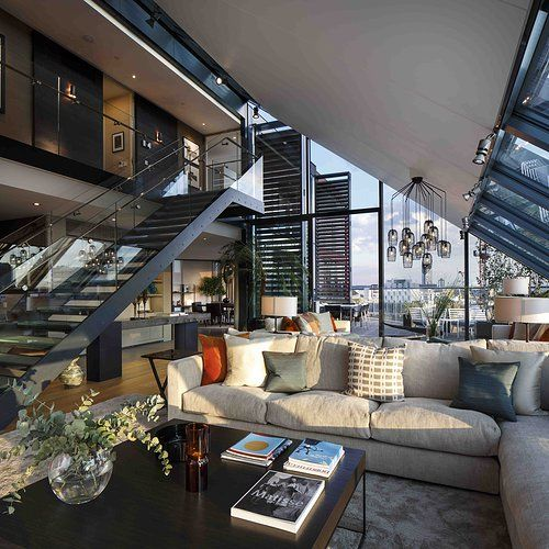 Most Expensive Apartment In Nyc: Pin De Vânia Cardoso Monraia En Living On A Penthouse