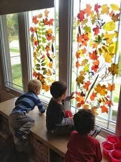 decoracion aula infantil otono