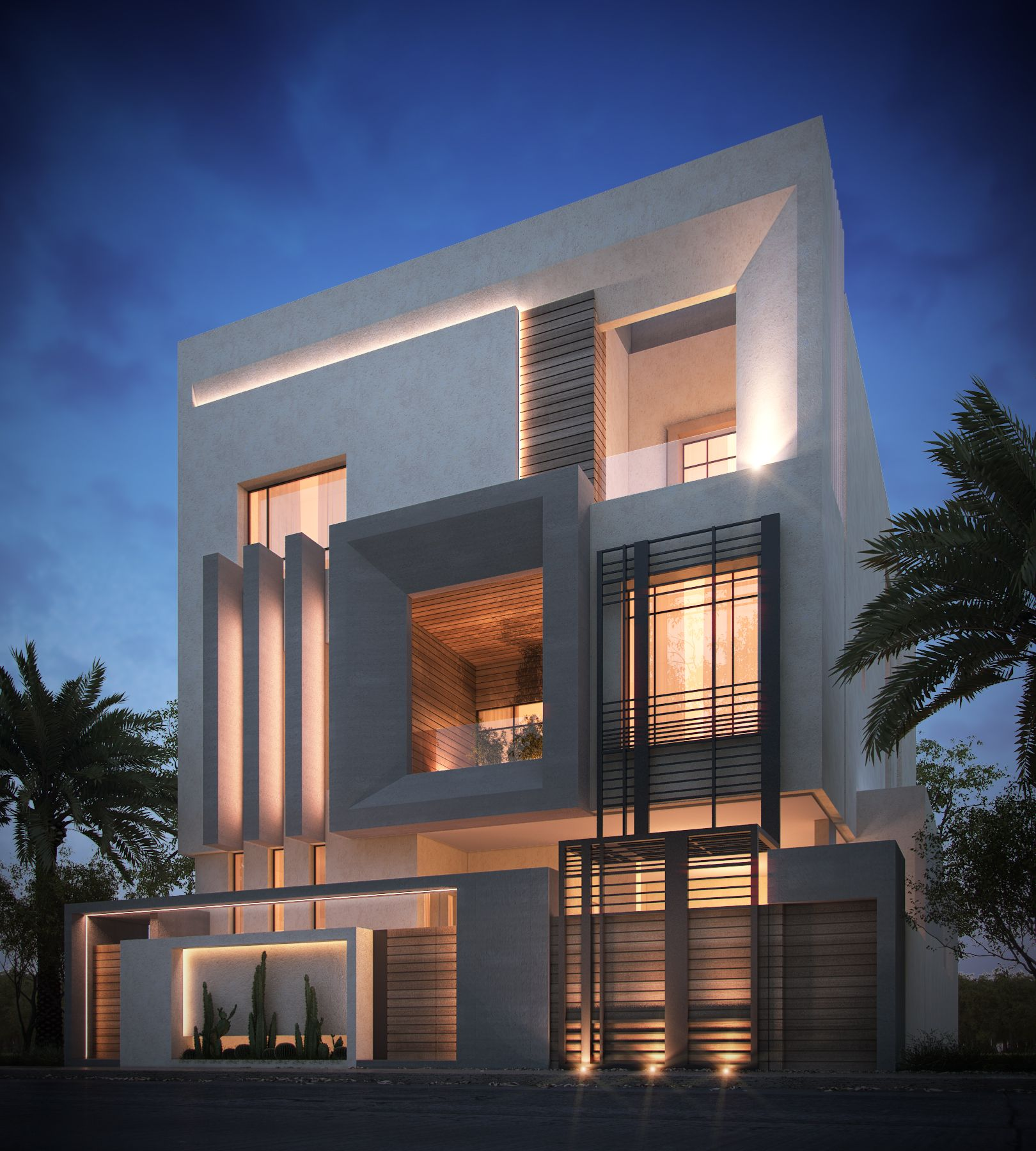 400 M Private Villa Kuwait Sarah Sadeq Architects Sarah Sadeq Architectes Pinterest Modern