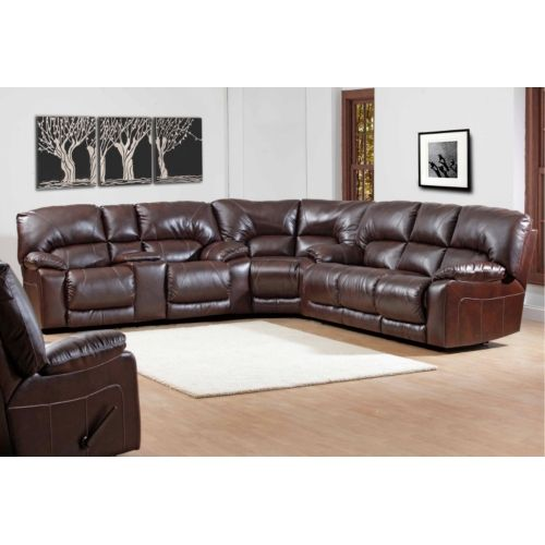Maverick 3 Piece Reclining Sectional | HOM Furniture  sc 1 st  Pinterest : hom furniture sectionals - Sectionals, Sofas & Couches