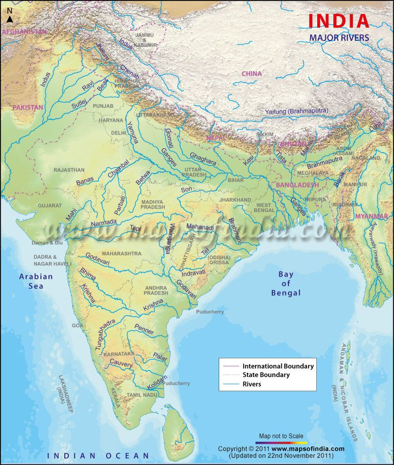 India River Map | India | Pinterest | India, Rivers and Southeast asia