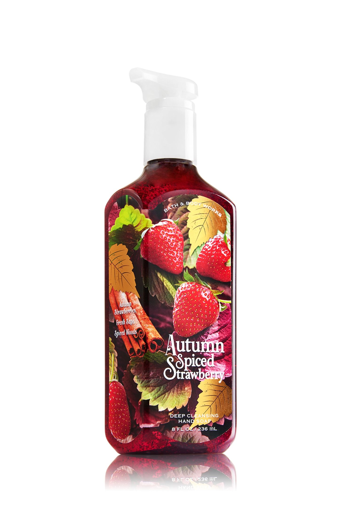 Autumn Spiced Strawberry Deep Cleansing Hand Soap Soap Sanitizer