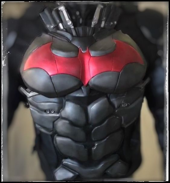 Chest/Abs Armor - Batman Arkham Knight (With Images)