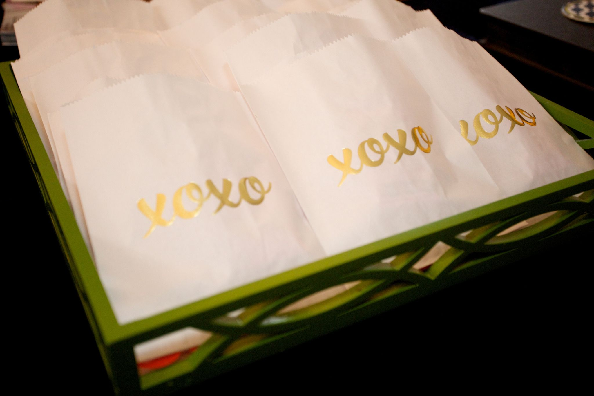 Amazing good bags #birthdayparty #xoxo #hugsandkisses #adorable #partyfavors #wrapitupparties