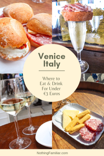 Photo of Venice on a Budget: Where to Eat & Drink For Under €3 Euros