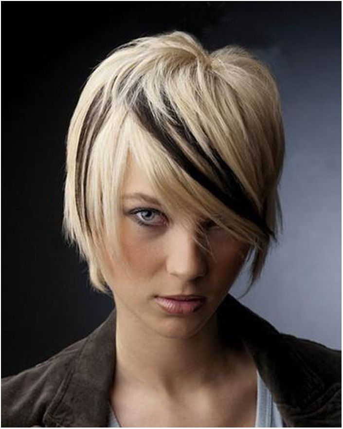 Short Black And Blonde Hair Color Ideas Short Hair Styles