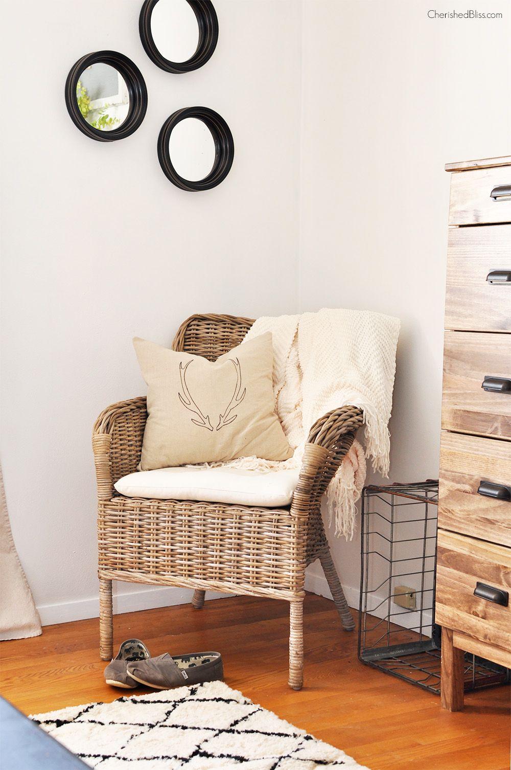 Rustic Industrial Master Bedroom Reveal Rustic