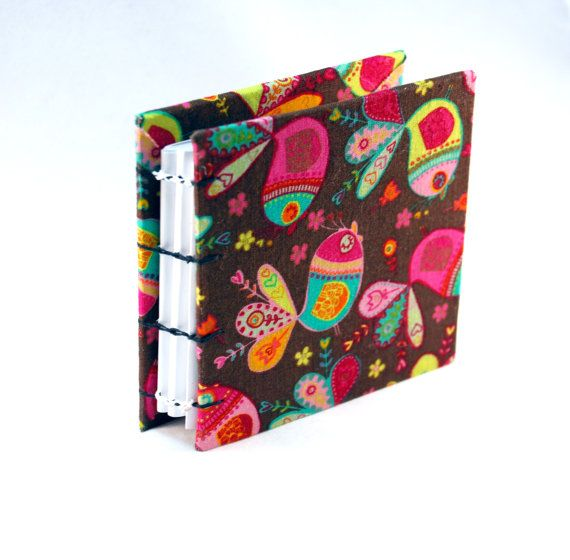 lazy birds blank handcrafted book cloth covered hard cover book