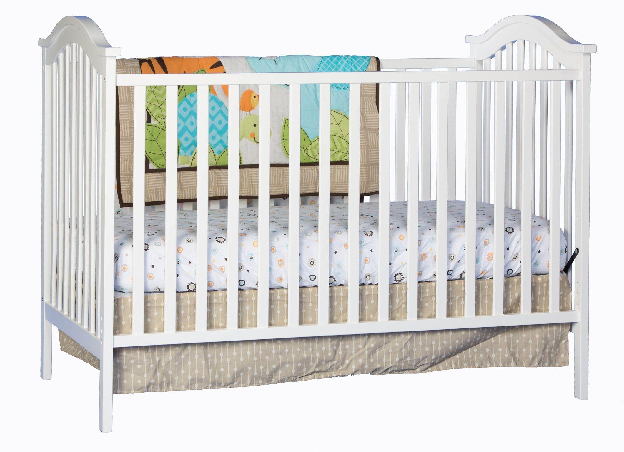 Amazon Com Stork Craft Hampton Fixed Side Convertible Crib White Baby Convertible Crib White Cribs Baby Cribs