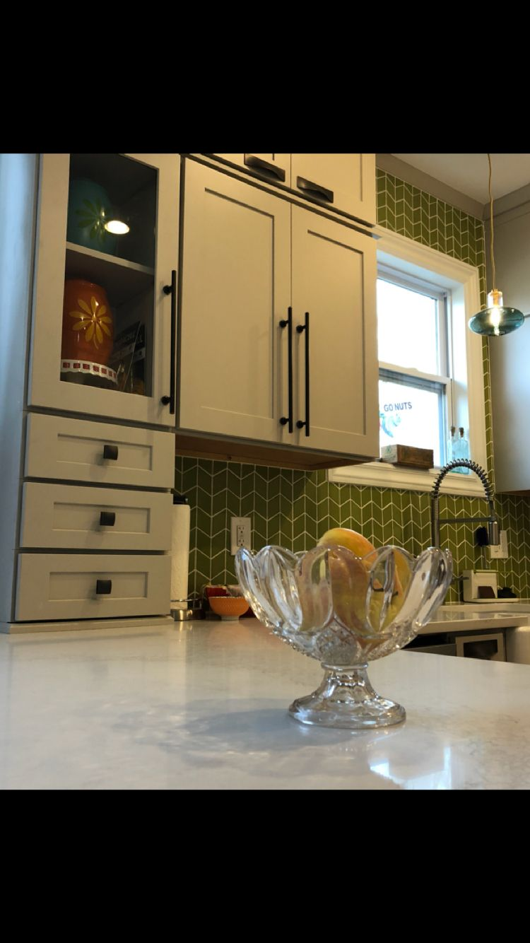 Craftsman Kitchen Remodel with Cliq Studios cabinets in Urban Stone ...