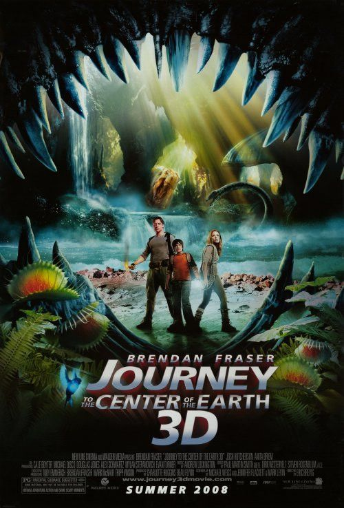 Journey To The Center Of The Earth 11x17 Movie Poster 2008
