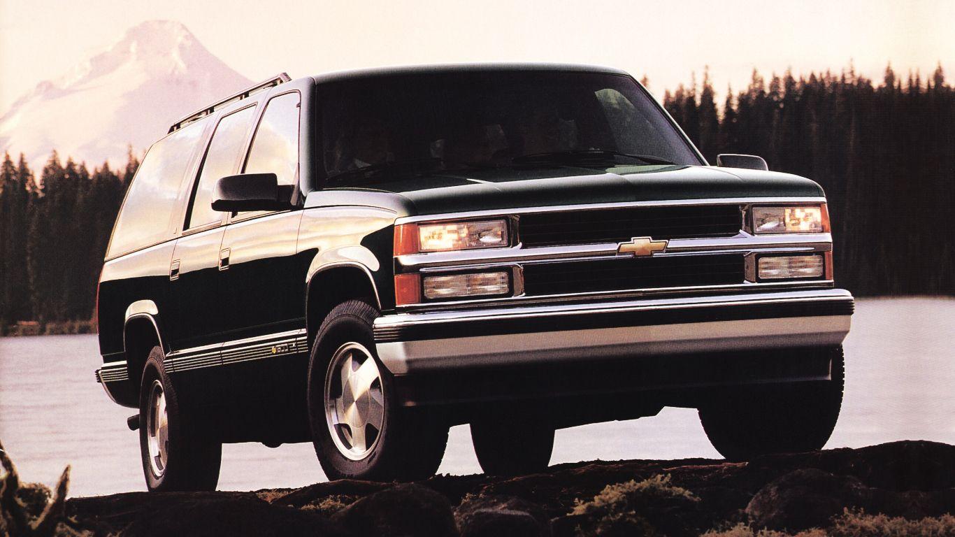 1994 99 Chevrolet 1500 Suburban Gmt400 Chevrolet Tahoe Chevrolet
