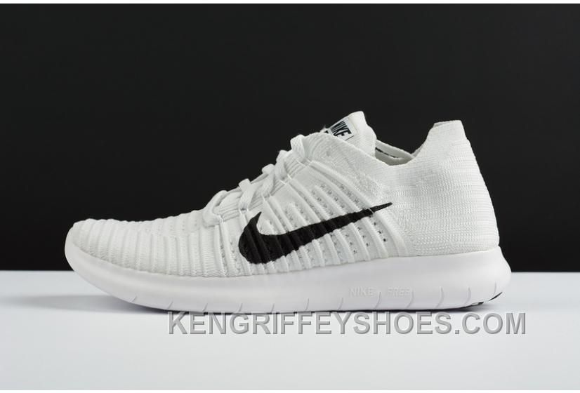 f7913be08d4c1 2016 NIKE FREE RN FLYKNIT 5.0 831069-101 White Mesh Women Men Copuon ...