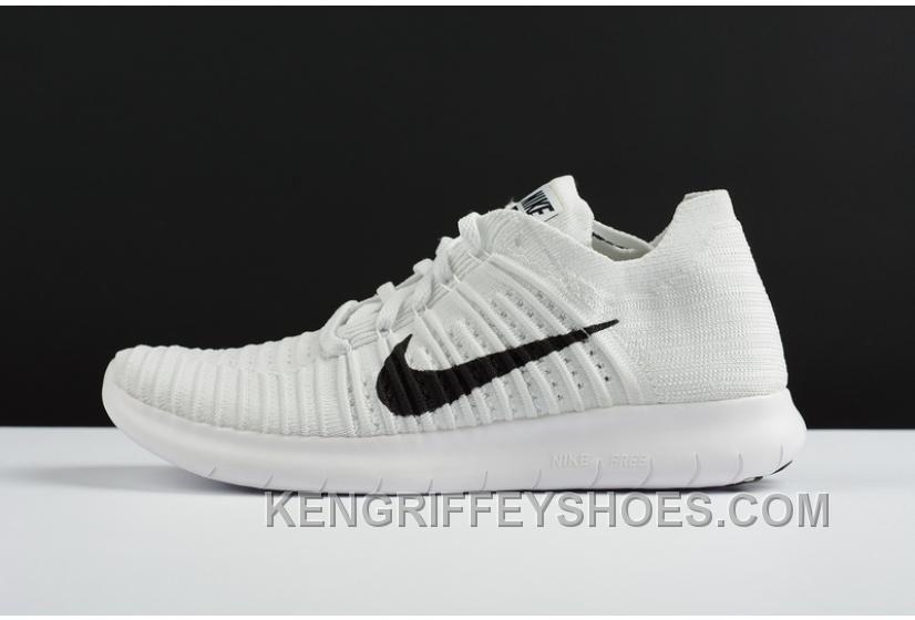 Nike Free 2016 Rn Flyknit White Black Black TopDeals