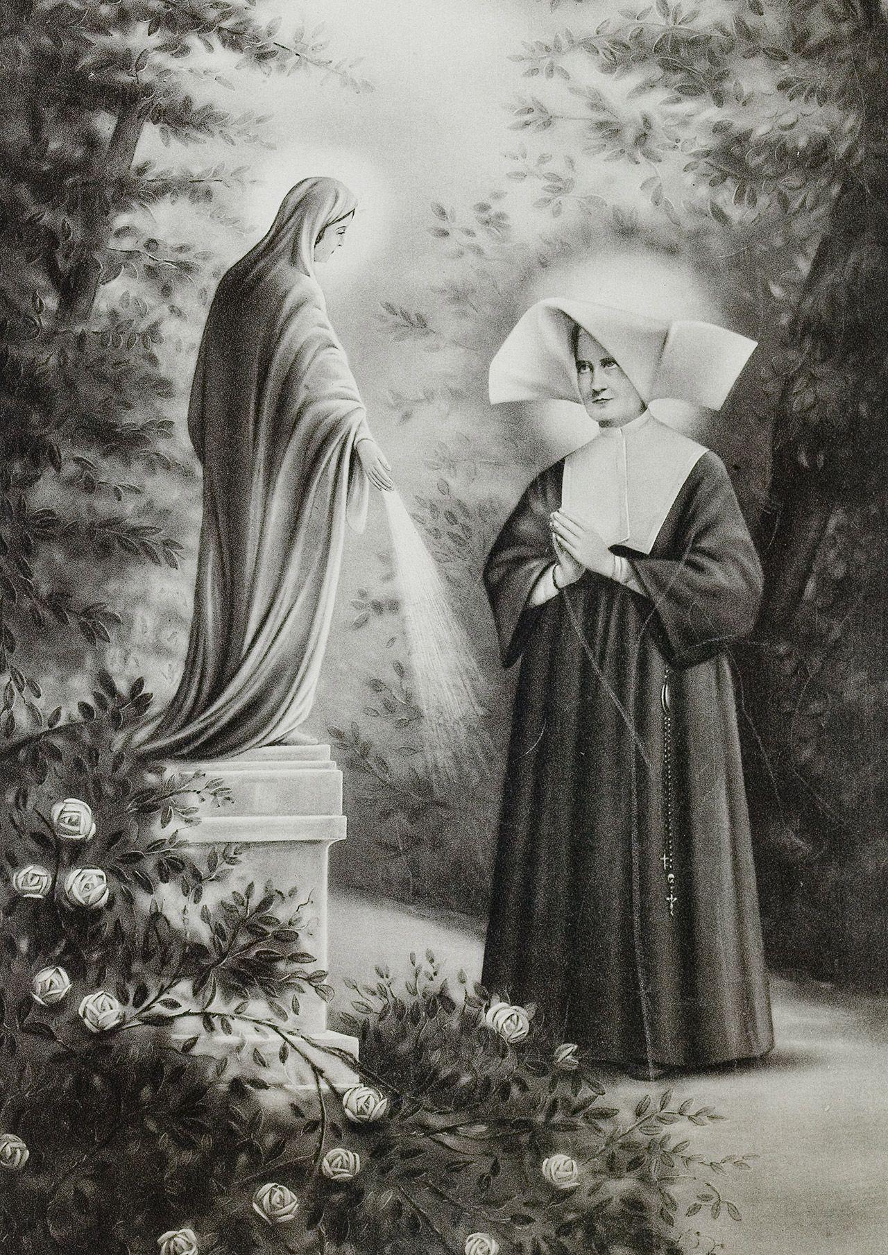 Aprenda a rezar a Novena da Medalha Milagrosa Em Nome Do Pai, Santos Da  Igreja b36f521eb7