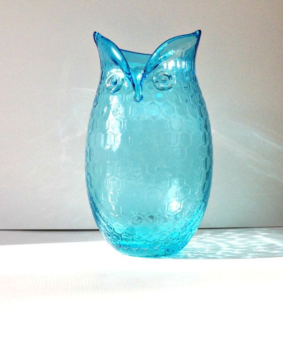 Your Place To Buy And Sell All Things Handmade Large Glass Vase Turquoise Vase Floral Vase