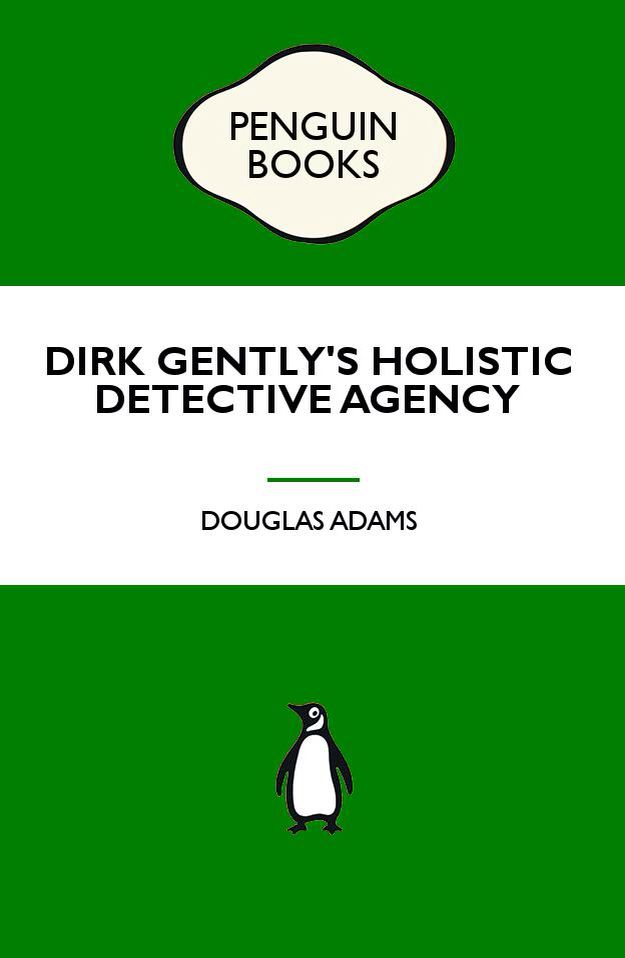 Popular Penguins We Need To See Dirk Gentlys Holistic Detective