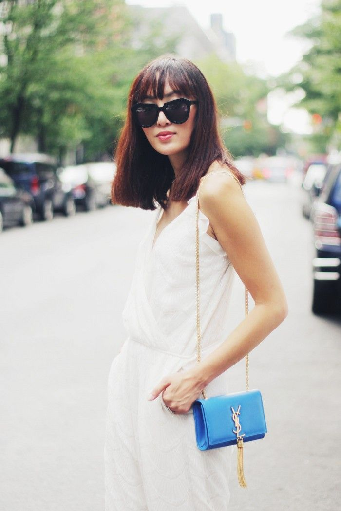 Chriselle_Lim_NewYorkCity_Saint_Laurent_tassel_Clutch_joy_cioci_Lace_jumpsuit_11